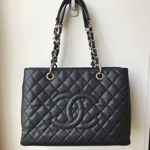 SOLD Chanel grand shopping tote. GST